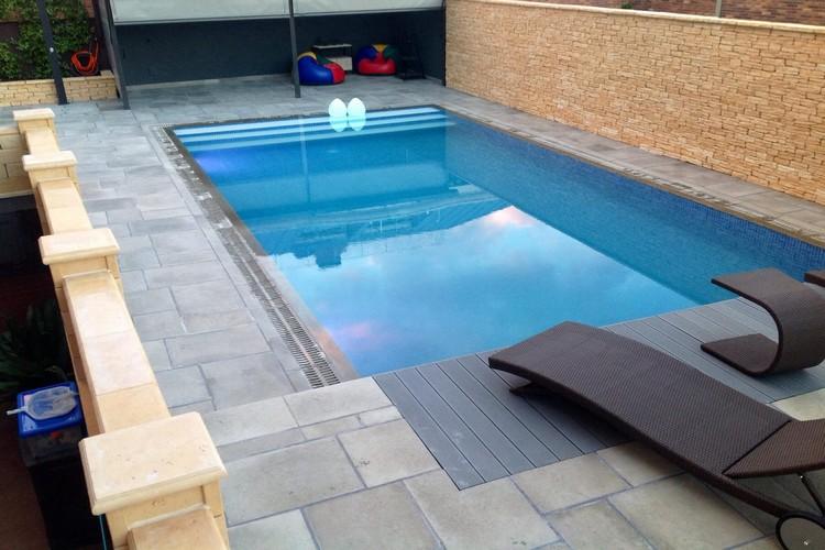 Transformación de piscina de SKIMMER a MUNICH