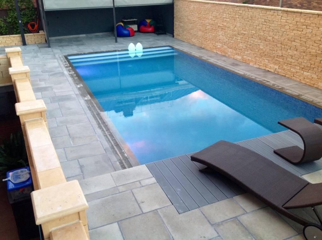 Transformaci n de piscina de skimmer a munich piscinas radu marin - Piscina skimmer ...