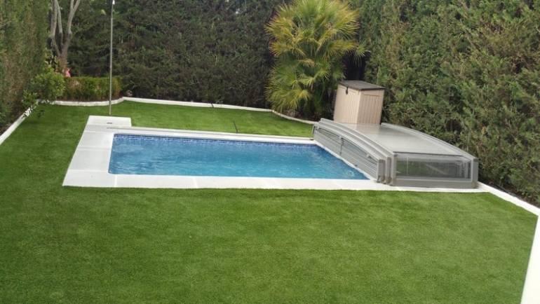 Rehabilitación e Impermeabilización de piscina de fibra