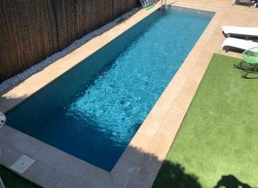 Obra completa construcción de piscina